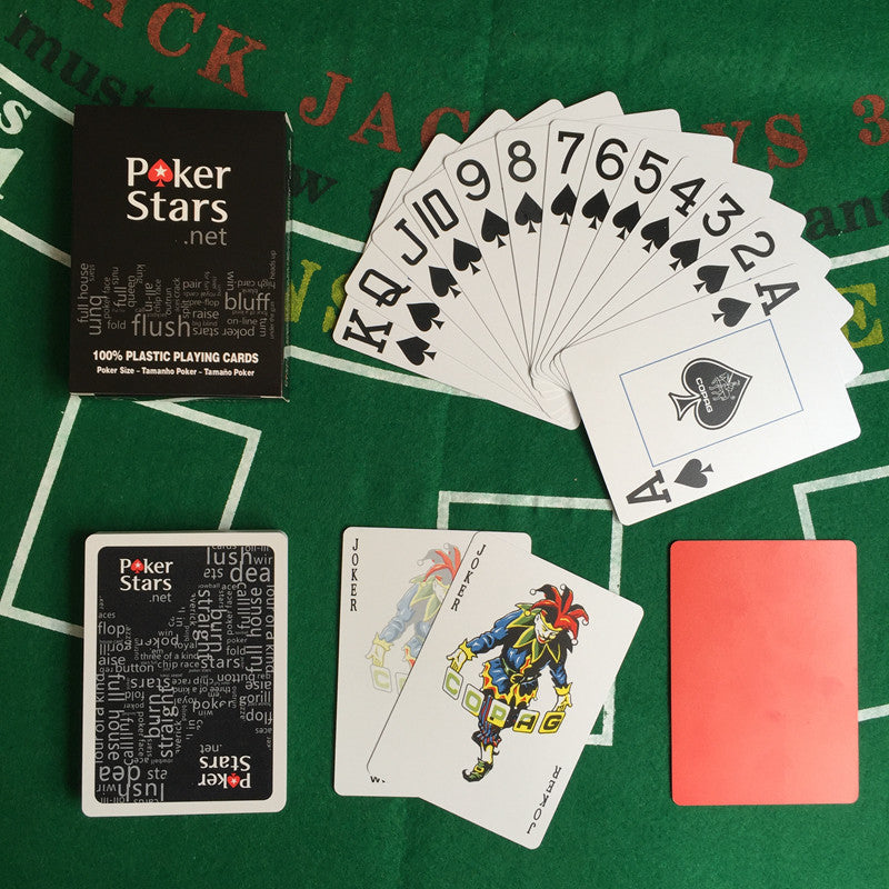 PokerStars Texas Holdem playing cards