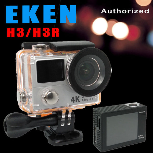 4k EKEN H3R H3 Action camera Ultra HD 4K Video Sports Camera 170D Wide Angle Dual Screen Remote Control go waterproof pro Yi cam