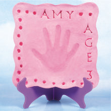 Girls 'My Handprint Plaque' Kit - SKU 801-13150W