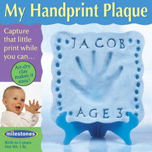 Boys 'My Handprint Plaque' Kit - SKU 801-13151W