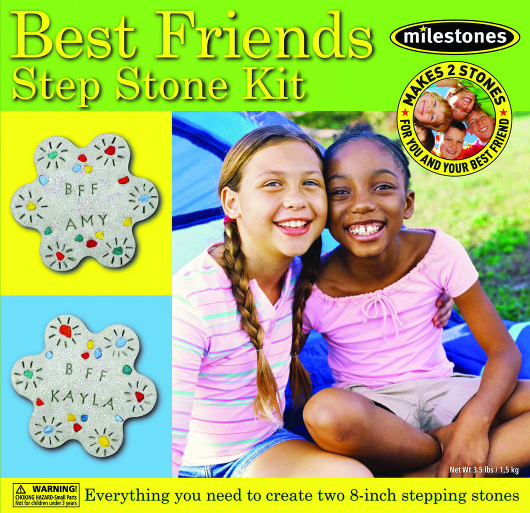 Best Friends Stepping Stone Kit - SKU 901-11245W