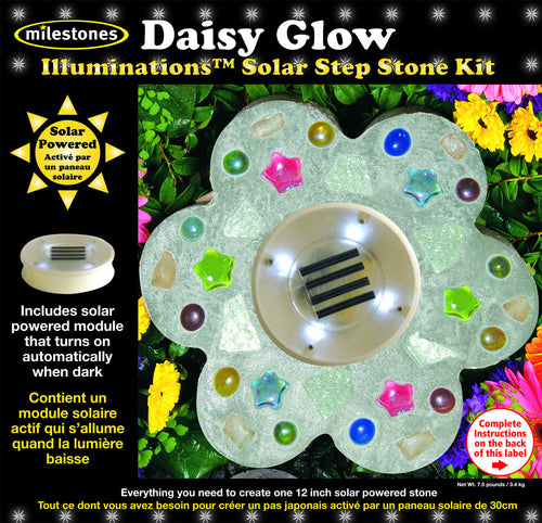Daisy Glow Illuminations Stepping Stone Kit - SKU 901-15201W