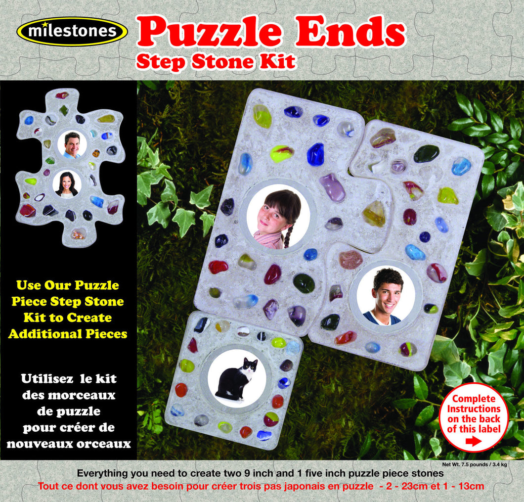 Puzzle Ends Stepping Stone Kit - SKU 901-15204W
