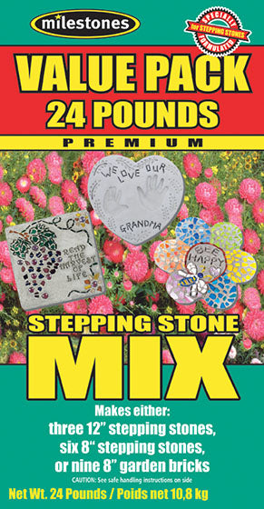 Premium Stepping Stone Mix - 24 Pounds - SKU 903-16104W