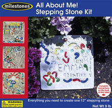 All About Me! Squiggle Stepping Stone Kit - SKU 901-11278W