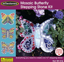 Mosaic Butterfly Stepping Stone Kit - SKU 901-11276W