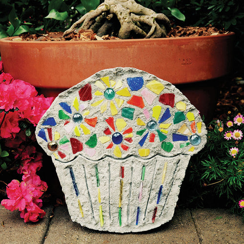 Cupcake Stepping Stone Kit - SKU 901-11294W