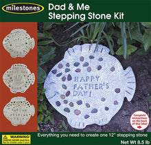 Dad & Me Stepping Stone Kit - SKU 901-15200W