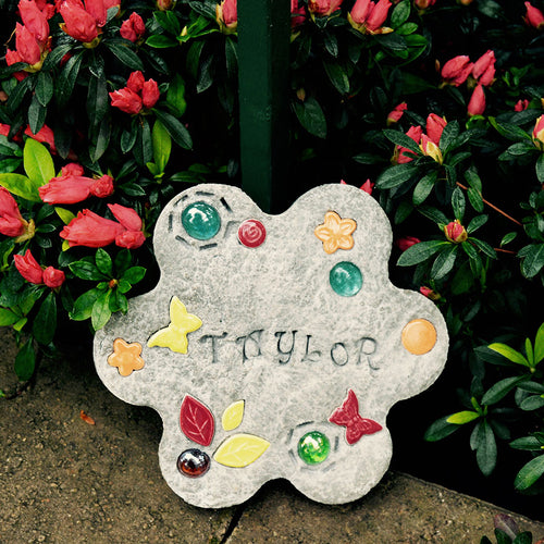 Kids' Garden Tile Stone Stepping Kit - SKU 901-11241W