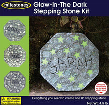 Kids' Glow-in-the-Dark Stepping Stone Kit - SKU 901-11240W