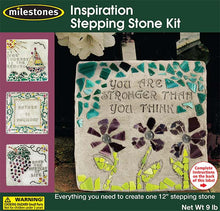 Inspiration Stepping Stone Kit - SKU 901-11279W