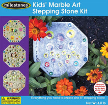 Kids' Marble Art Stepping Stone Kit - SKU 901-11238W