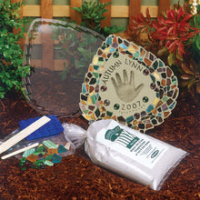 Mosaic Leaf Stepping Stone Kit - SKU 901-11455W