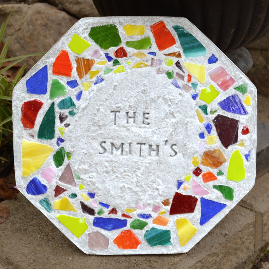Mosaic Stepping Stone Kit - SKU 901-11273W
