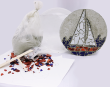 Nautical Mosaic Stepping Stone Kit - SKU 901-15213W