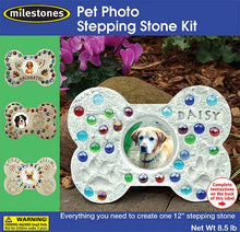 Pet Photo Stepping Stone Kit - SKU 901-11296W