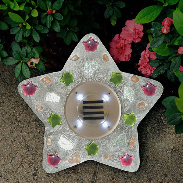 Star Shine Solar Stepping Stone Kit - SKU 901-15202W