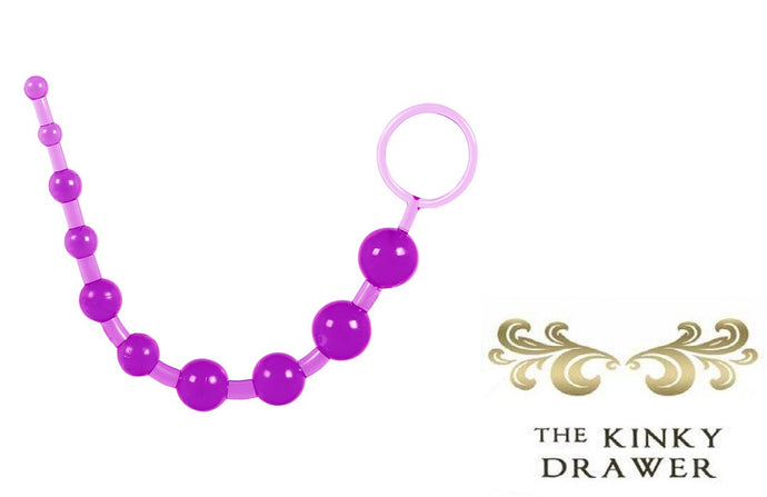 Dragonz Tale anal beads purple