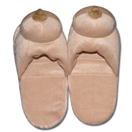 boobie slippers fun
