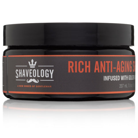 Rich Anti Aging Shave Lather Infused With Golden Seaweed