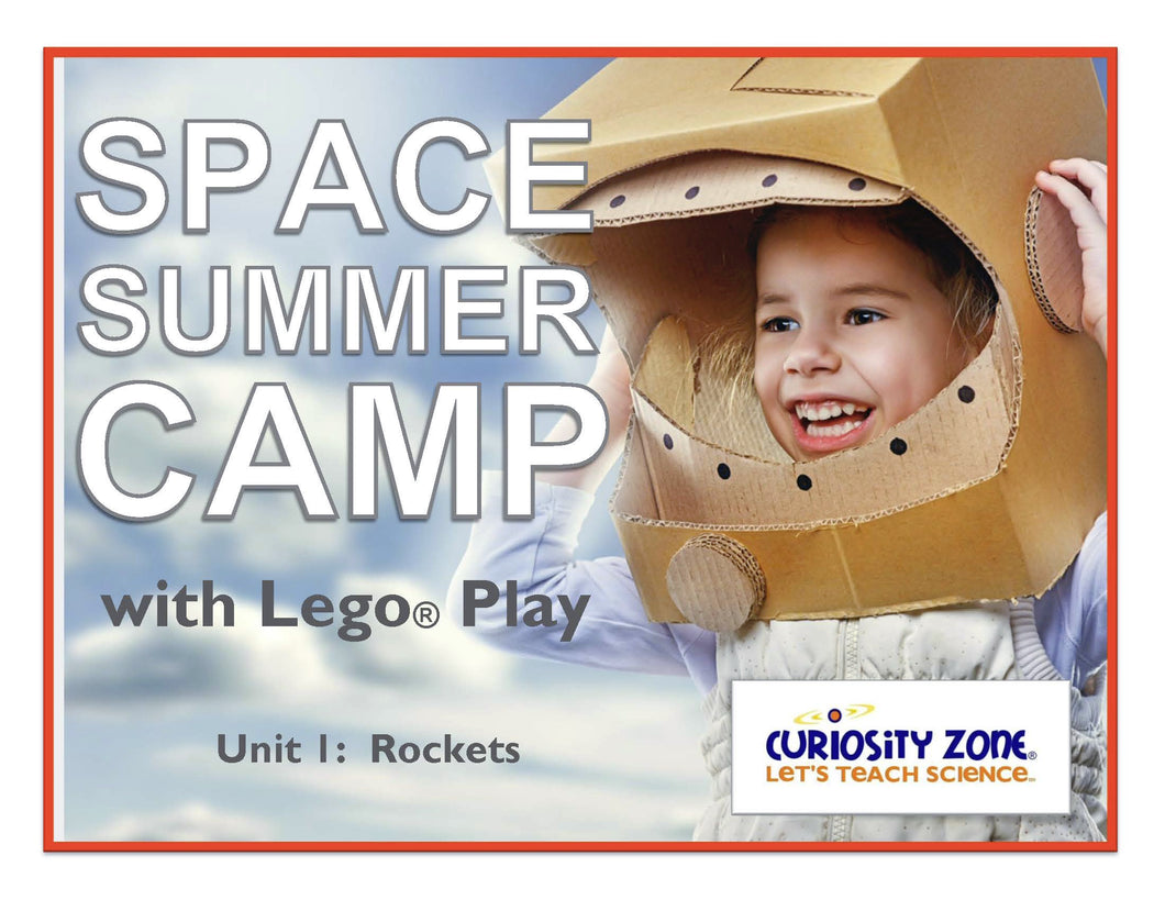 New for 2020!  Space Camp with Lego® Play - Rockets (3 hours)