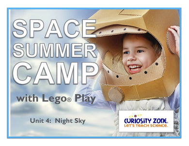 Space Camp with Lego® Play - Night Sky (3 hours)