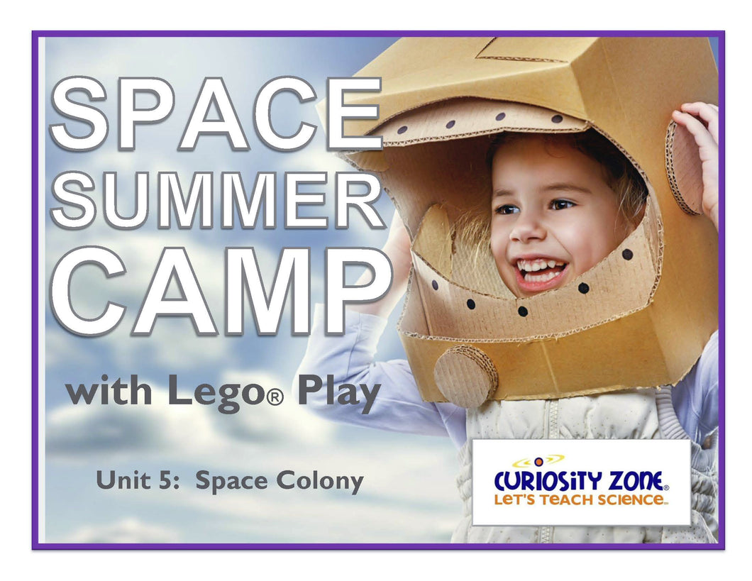 New for 2020!  Space Camp with Lego® Play - Space Colony (3 hours)
