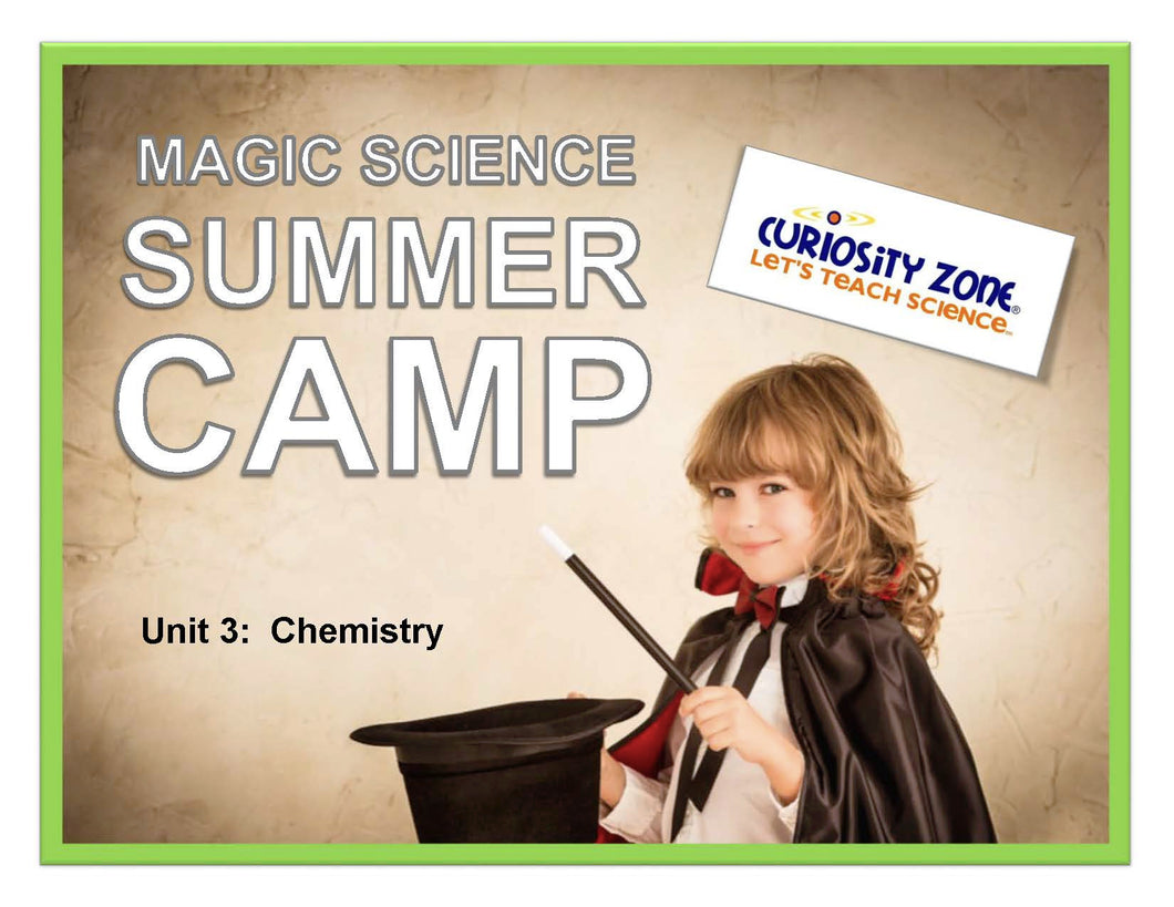 Magic Science Camp - Chemistry (3 hours)