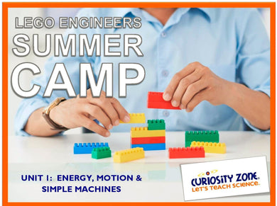 Lego® Engineers Camp: Simple Machines (3 hours)