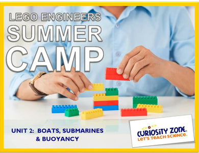 Lego® Engineers Camp: Boats & Submarines (3 hours)