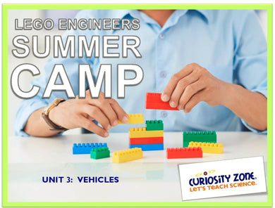 Lego® Engineers Camp: Vehicles (3 hours)