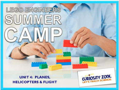 Lego® Engineers Camp: Airplanes, Helicopters & Flight (3 hours)