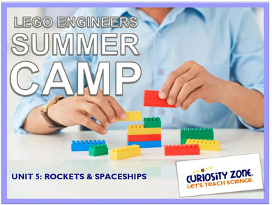 Lego® Engineers Camp: Rockets & Spaceships (3 hours)
