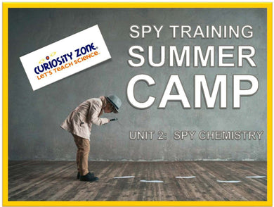 Spy Training Camp: Spy Chemistry (3 hours)