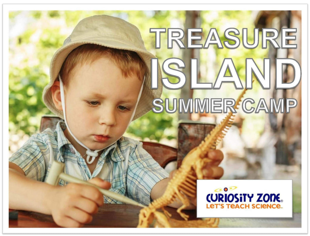 COMING SOON! Treasure Island Adventure Camp - Full Week (15 hours).  Available October 2018.