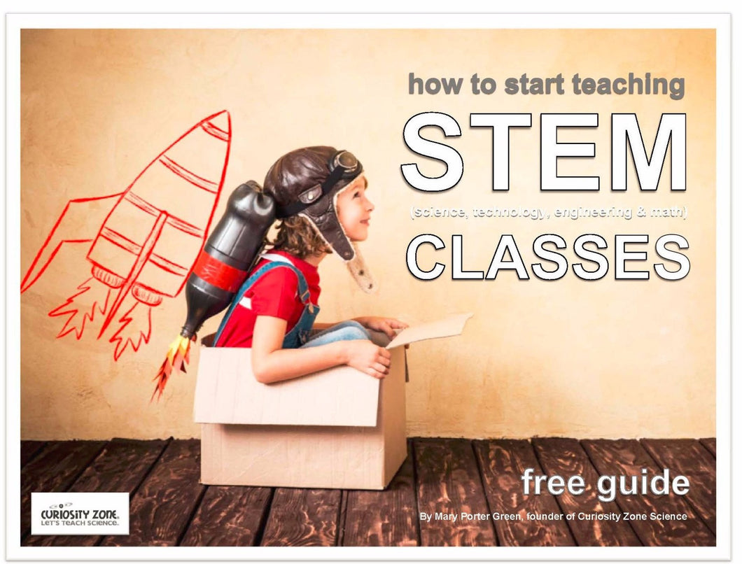 Free Guide:  Start a STEM Afterschool Program