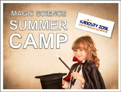 Magic Science Camp - Full Week (15 hours)