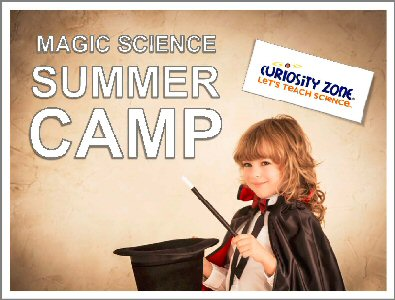 New for 2019! Magic Science Camp - Full Week (15 hours)