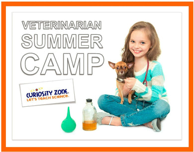Veterinarian Camp:  Pets (3 hours)