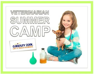Veterinarian Camp:  Zoo Mammals (3 hours)