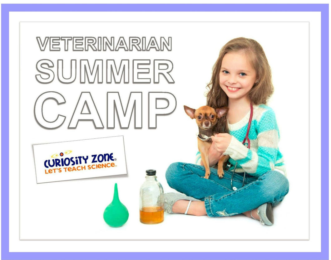 Veterinarian Camp:  Backyard Animals (3 hours)