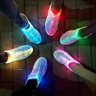 KRIATIV Luminous Sneakers Glowing Light Up Shoes