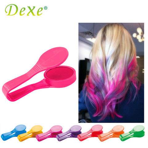Dexe Temporary Hair Color Chalk Powder Beauty Gaga Halloween Party Makeup Disposable DIY Super Hair Dye Colorful Styling Kit