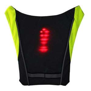 Safety Light Vest with wireless remote control