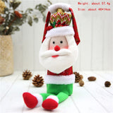 Hoomall 1PC Home Dinner Party Table Decors Wine Cover Christmas Decorations Santa Claus Snowman Gift Navidad Xmas Party Supplies