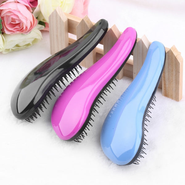 Wholesale Magic Detangling Handle Tangle Shower Hair Brush Comb Salon Styling Tools Tangle Hair Brush Combs For Hair VH078