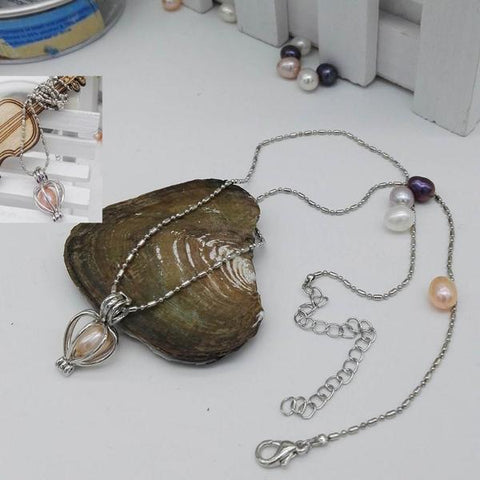 Necklace with a Surprise Pearl - Best Xmas Gift Ever!