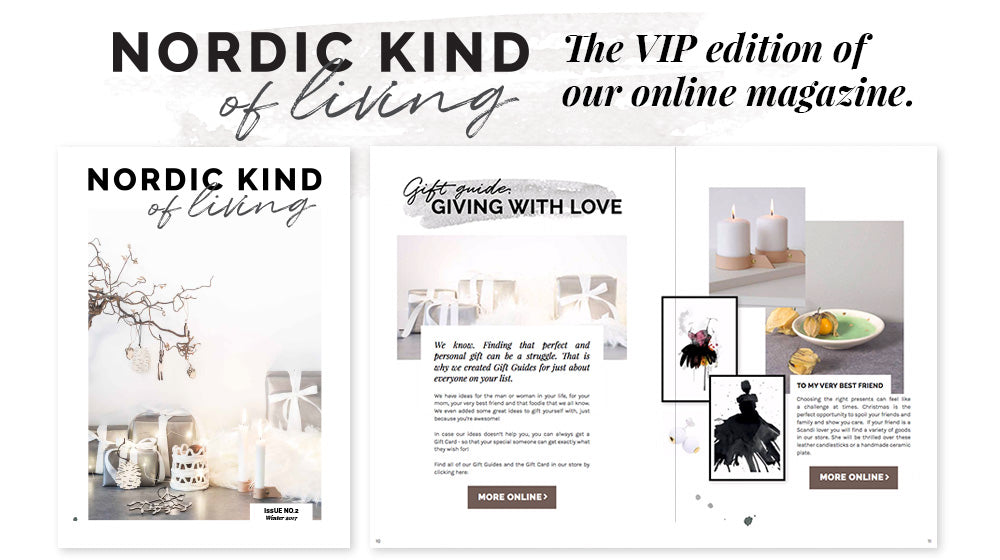 Zeitschrift Living And More our magazine nordic