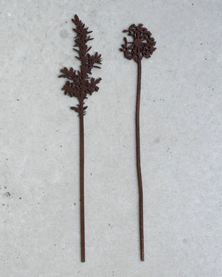 Dandelion And Juniper - Wooden Flowers - Dark (Large)
