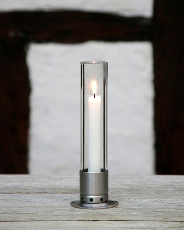 Kattvik Candlestick Brushed Stainless Steel